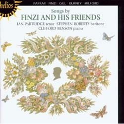 Finzi/Milford/Farrar/Gurney/Gill - Songs By Finzi & His Friends;Partridge CD - CDH 55084