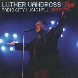 Luther Vandross - Luther - Live CD - CDJAY221
