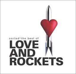 Love And Rockets - Sorted- Best Of CD - CDJUST 005