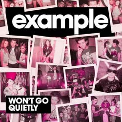 Example - Won't Go Quietly CD - CDJUST 402