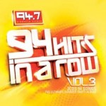 94 Hits In A Row Vol 3 CD - CDJUST 501