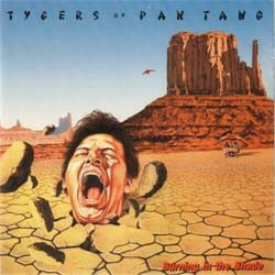 Tygers Of Pan Tang - Burning In The Shade CD - CDLEM 35