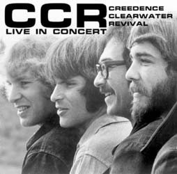 Creedence Clearwater Revival - Live In Concert CD - CDMW01