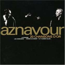 Charles Aznavour - 20 Chansons D'Or CD - CDP 8319822