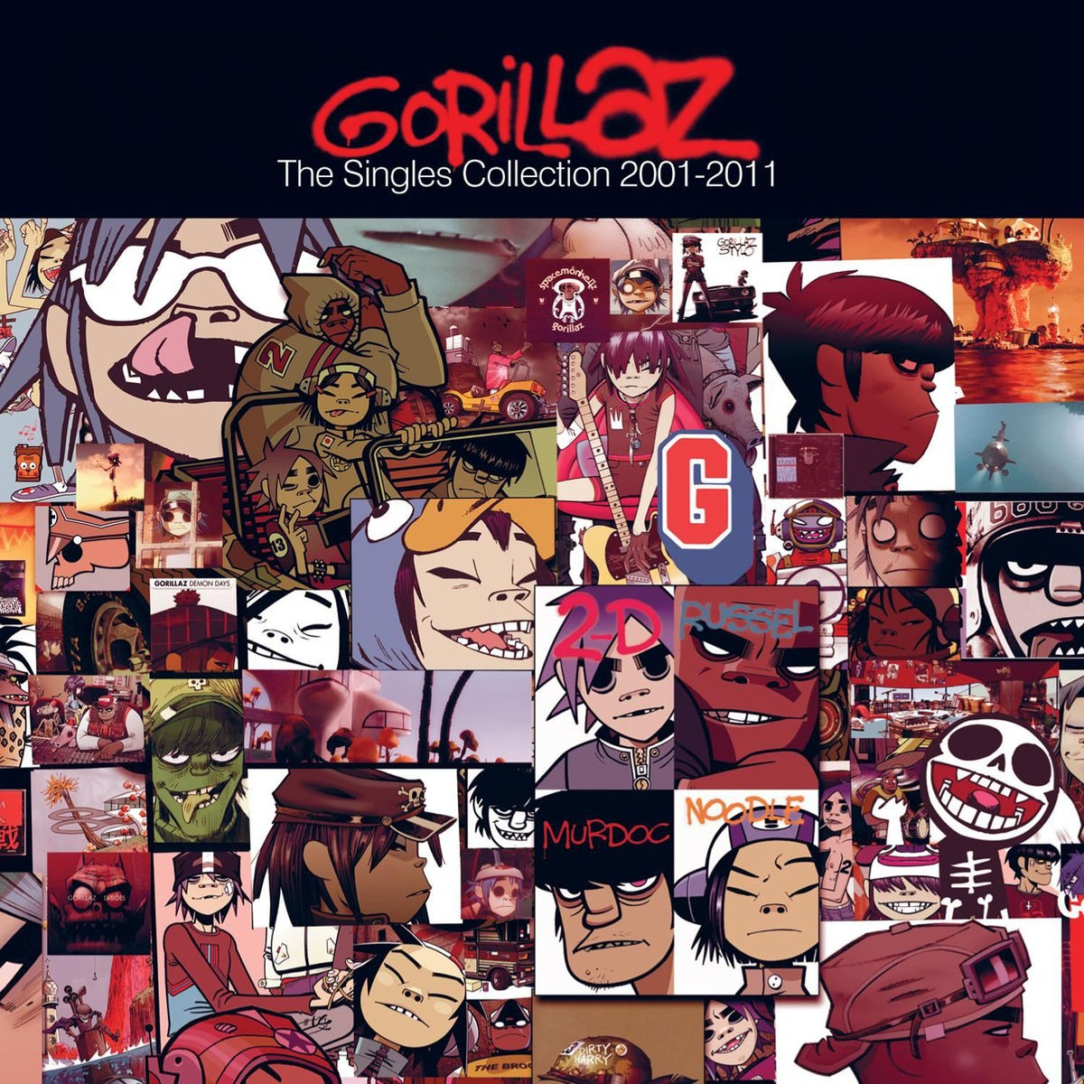 Gorillaz - The Singles Collection 2001-2011 CD - CDPCSJ 7262