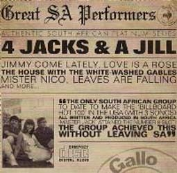 4 Jacks And A Jill - Great South African Performers CD - CDPS 006