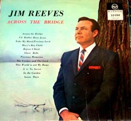 Jim Reeves - Across The Bridge CD - CDRCA6012