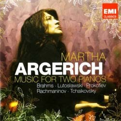 Martha Argerich - Music For Two Pianos CD - CDS 2076232
