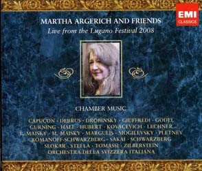 Martha Argerich - Live From Lugano 2008 CD - CDS 2670512