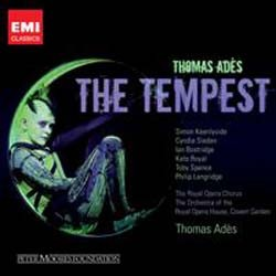 Thomas Ades - The Tempest CD - CDS 6952342