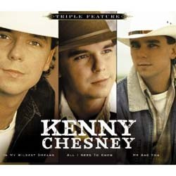 Kenny Chesney  - Triple Country Feature CD - CDSM403