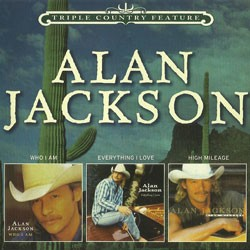 Alan Jackson - Triple Country Feature CD - CDSM406