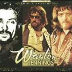 Waylon Jennings - Triple Country Feature CD - CDSM411