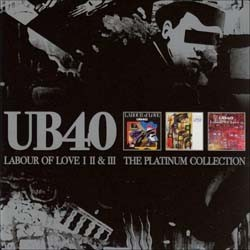 UB40 - Platinum Collection CD - CDVIRT 666