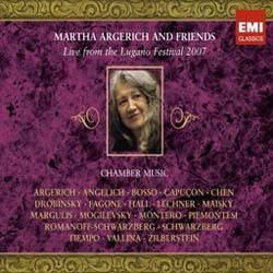 Martha Argerich - Live From Lugano 2007 CD - CMS 5183332