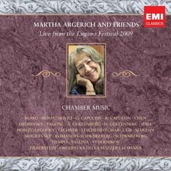 Martha Argerich - Live From Lugano 2009 CD - CMS 6073672