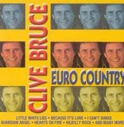 Clive Bruce - Euro Country Hits CD - CRECD040