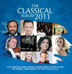 The Classical Album 2011 CD - DARCD 3108