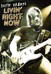 Keith Urban - Livin' Right Now DVD - 00946 3422899