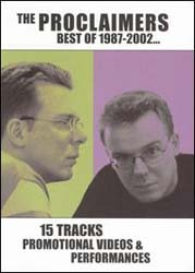 The Proclaimers - Best Of 1987 - 2002 DVD - DVD 4929209