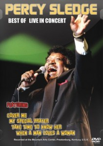 Percy Sledge - Best Of Live DVD - DVDPT790