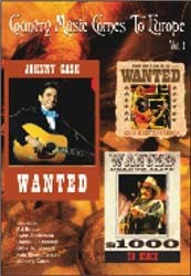 Country Music Comes To Europe Vol 1 DVD - DYNDVD2024