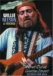 Willie Nelson And Friends  - Great Outlaw Valentine Concert DVD - DYNDVD2025