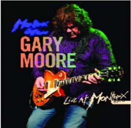 Gary Moore - Live At Montreux 2010 CD - EAGCD434