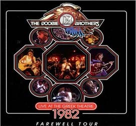 The Doobie Brothers - Live At The Greek 1982 CD - EAGCD446