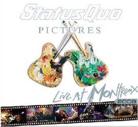 Status Quo - Pictures- Live At Montreux 2009 CD - EAGCD466