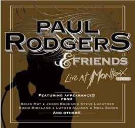 Paul Rodgers And Friends - Live At Montreux CD - EAGCD467