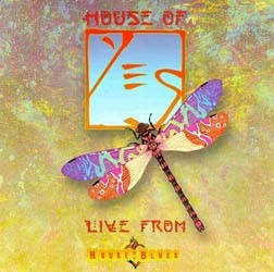 Yes - Live From House Of Blues CD - EDGCD158