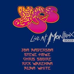 Yes - Live In Montreux CD - EDGCD358