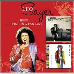 Leo Sayer - Here + Living In A Fantasy CD - EDSD 2061