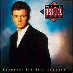 Rick Astley  - Whenever You Need Somebody CD - EDSD 2078