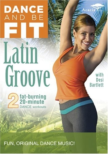 Desi Bartlett - Dance And Be Fit - Latin Groove DVD - EFDVD006