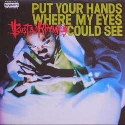 Busta Rhymes - Put Your Hands Where My Eyes Could See CD - EKSD 6