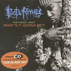 Busta Rhymes - What's It Gonna Be CD - EKSD 8
