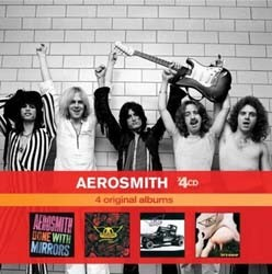 Aerosmith - Permanent Vacation / Pump / Get A Grip / Done With The Mirrors CD - 06007 5331851