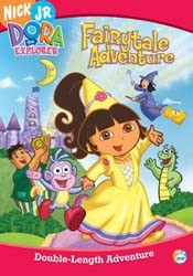 Dora The Explorer: Fairy Tale Adventure DVD - EU110561 DVDP