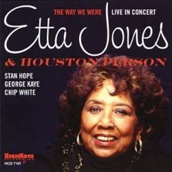 Etta Jones And Houston Person - The Way We Were CD - HCD 7197