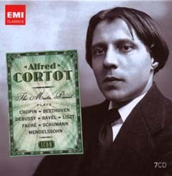 Alfred Cortot - Icon: The Master Pianist (7Cd) CD - 50999 2173042