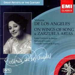 Viconcertoria De Los Angeles - On Wings Of Song CD - I-3751932