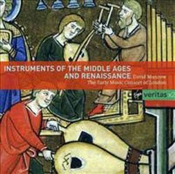 David Munrow - Instr. Of Middle Ages And Renais CD - 00946 3858112