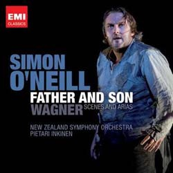 Simon O'Neill - Father And Son - Wagner Scenes CD - I-4578172