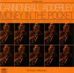 Adderley Cannonball - Money In The Pocket (Cds CD - I-477 5692