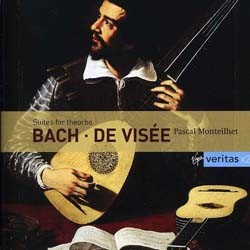 Pascal Monteilhet - Bach/De Visee: Theorbo S CD - 07243 4820942