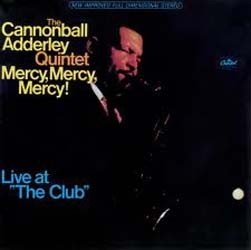 Adderley Cannonball - Mercy Mercy Mercy CD - I-CDJ 8299152