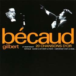 Gilbert Becaud - 20 Chansons D'Or CD - I-CDP 4965132