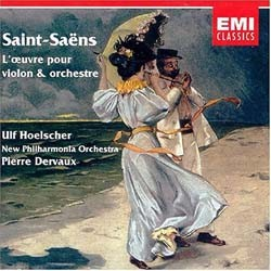 Ulf Hoelscher/Pierre Dervaux - Saint-Saens:Works Violin CD - I-CZS 5720012